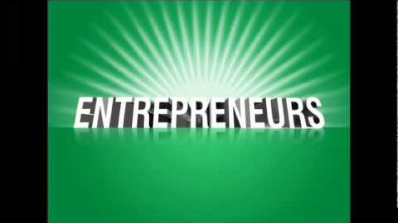 Enterpreneurs can change the world
