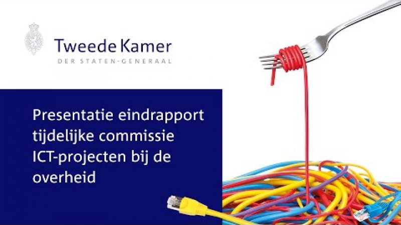 Aanbieding eindrapport ICT Commissie Elias