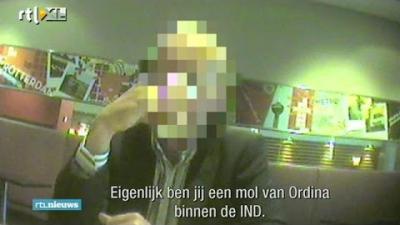 Koersval Ordina na fraude-beschuldiging